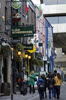The Old Storehouse, Temple Bar, Dublin