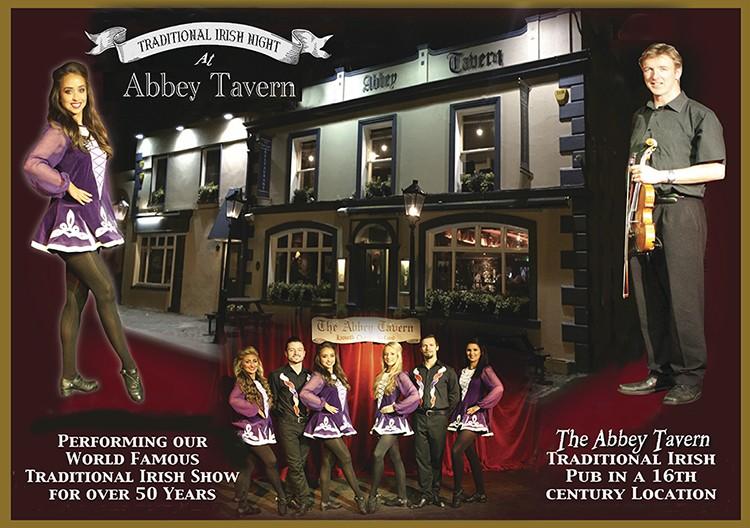 Ireland's World Famous Abbey Tavern Traditional Irish Night