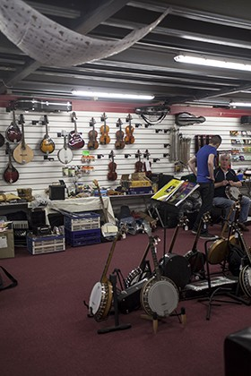 McNeela Musical Instruments, Baldoyle, Dublin